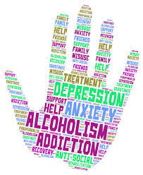 On this hand are the many sides of substance abuse.