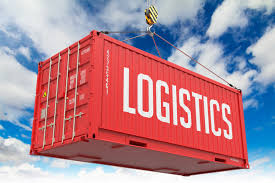 This moving freight symbolizes the continual challenges of logistics.
