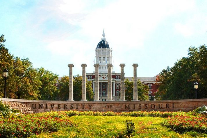 mizzou campus, university of missouri