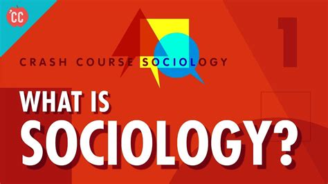 a question about what sociology is