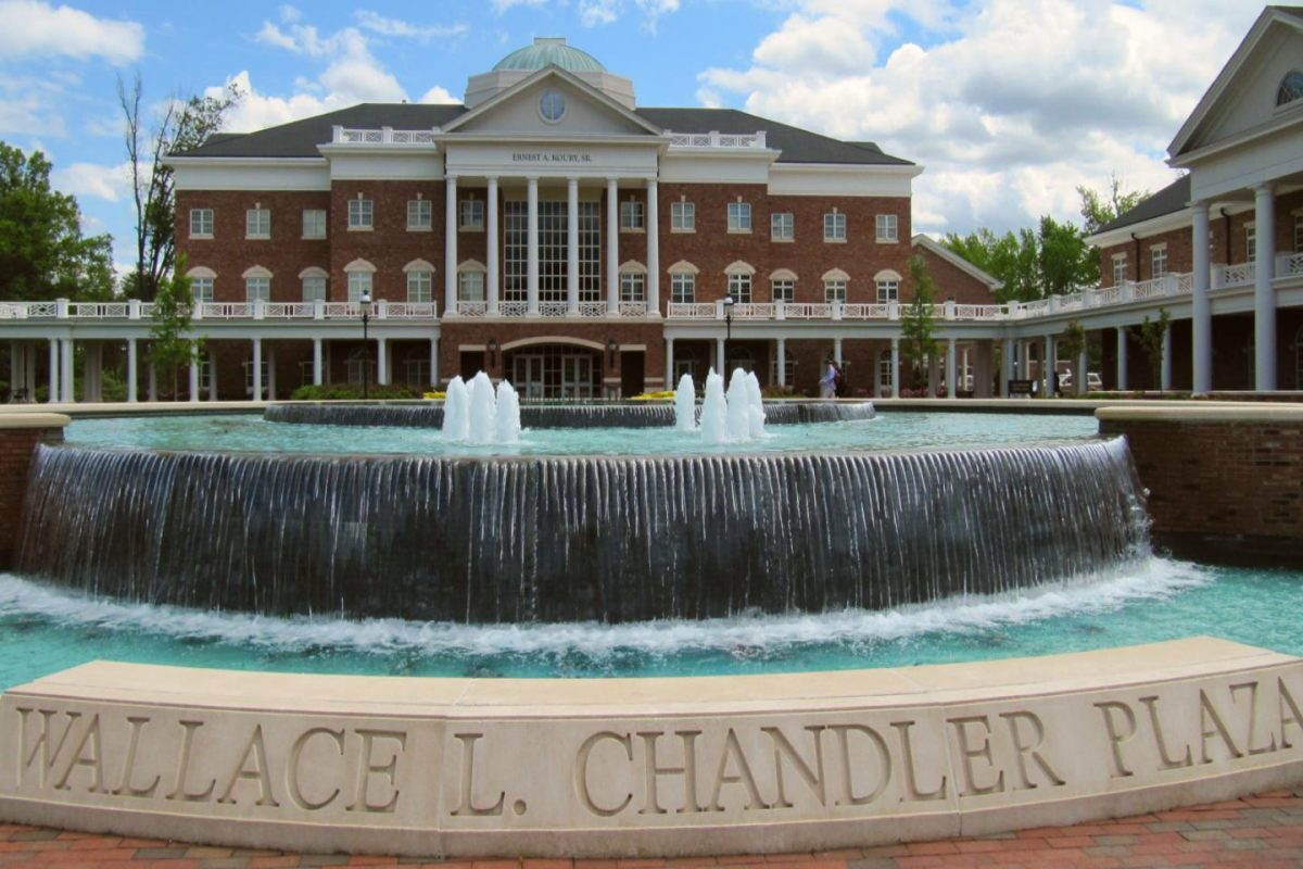 Wallace L. Chandler Plaza: Elon University