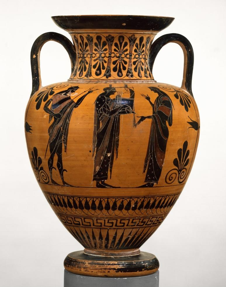 Art piece from ancient Mediterranean times in Greece