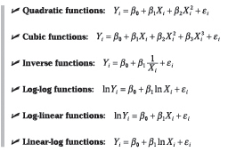 This picture shows the functions that are commonly used in this course