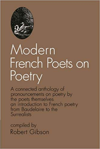 This picture shows an image of the cover of one of the many French poetry books.