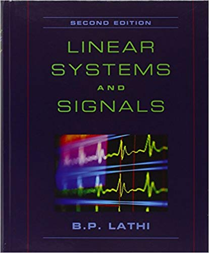 Signals and Linear Systems Textbook Cover