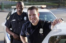 Picture of 2 policemen