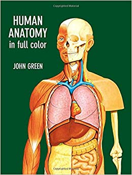 Cover of one of the anatomy textbooks in color