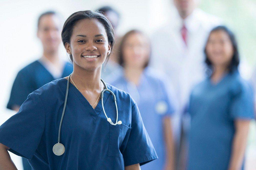 Photo of nurse on duty
