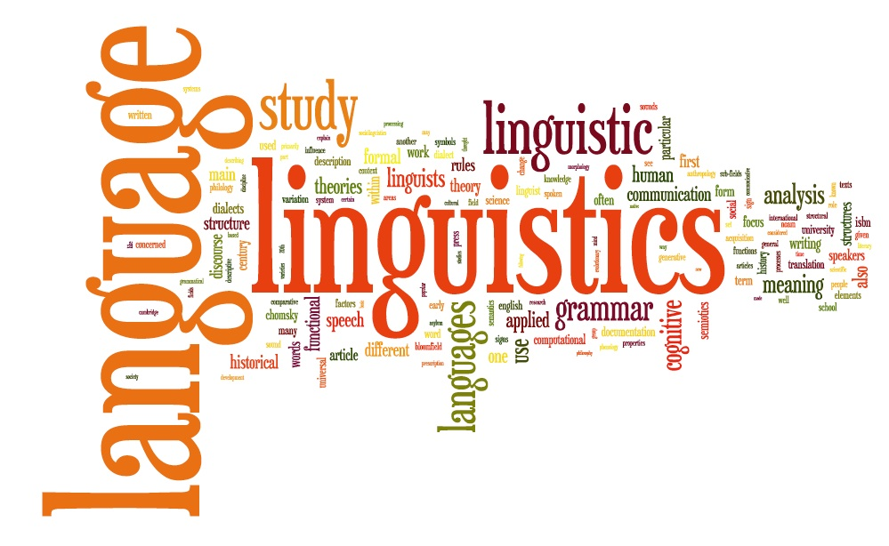 wordcloud for linguistics