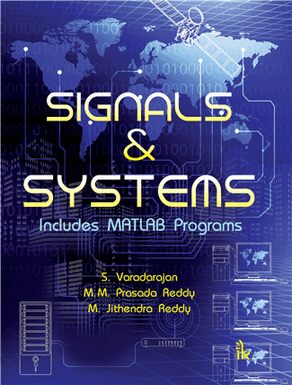 Textbook cover of signals and systems