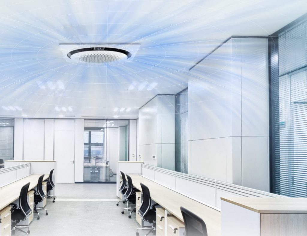 Image of advanced ceiling air conditioner