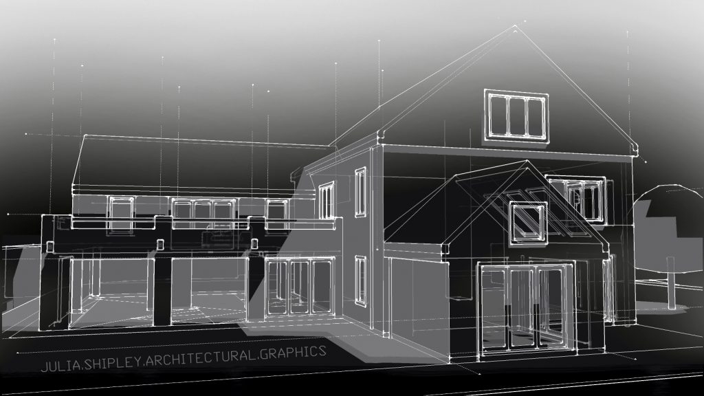 A typical example of Architectural Graphics