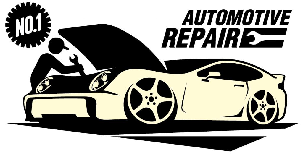 A pictorial representation of auto repair mechanics