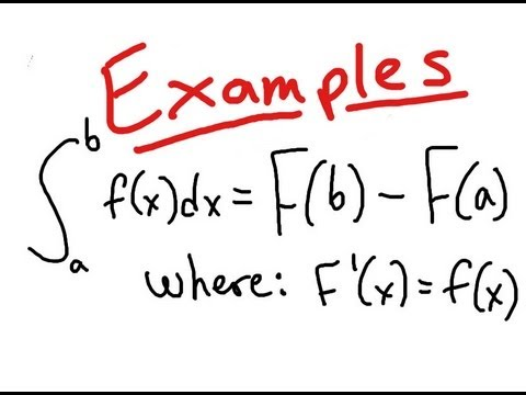 An example of Calculus equation