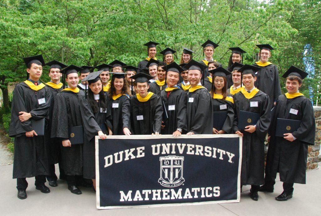 Graduates of Duke Mathematics Department.