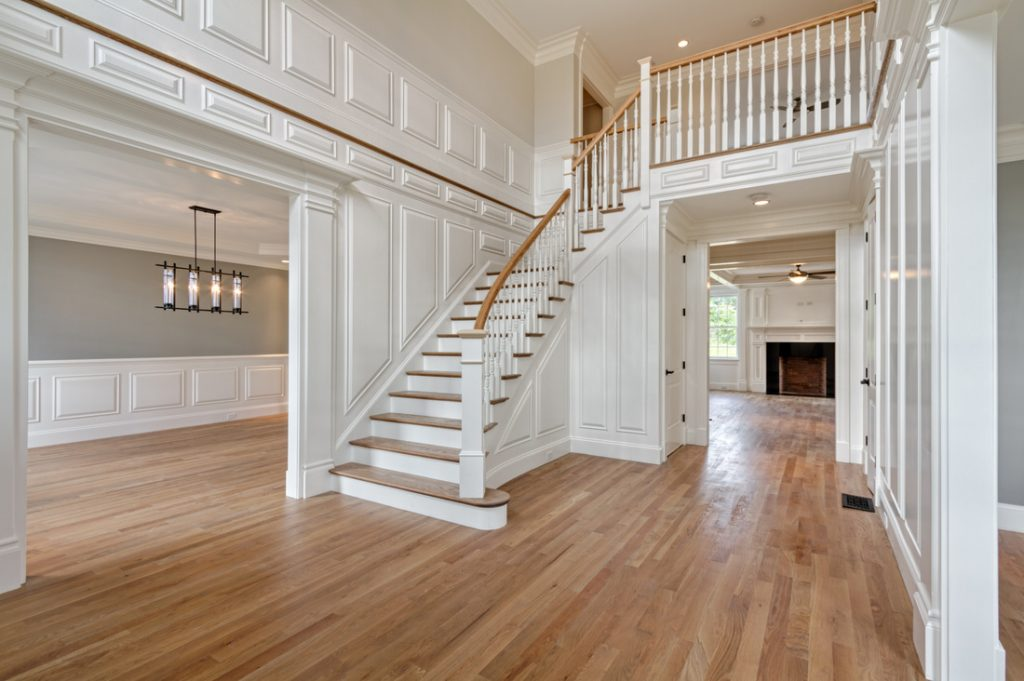 typical picture of custom Finish Carpentry