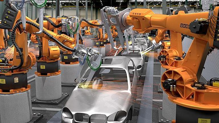A typical example of Industrial Robots