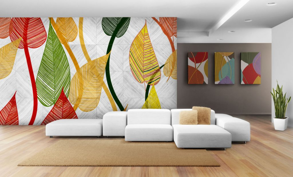 A typical example of an Interior Design Graphics