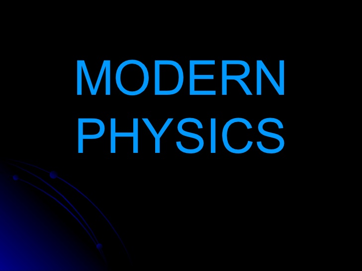 The image of Modern Physics