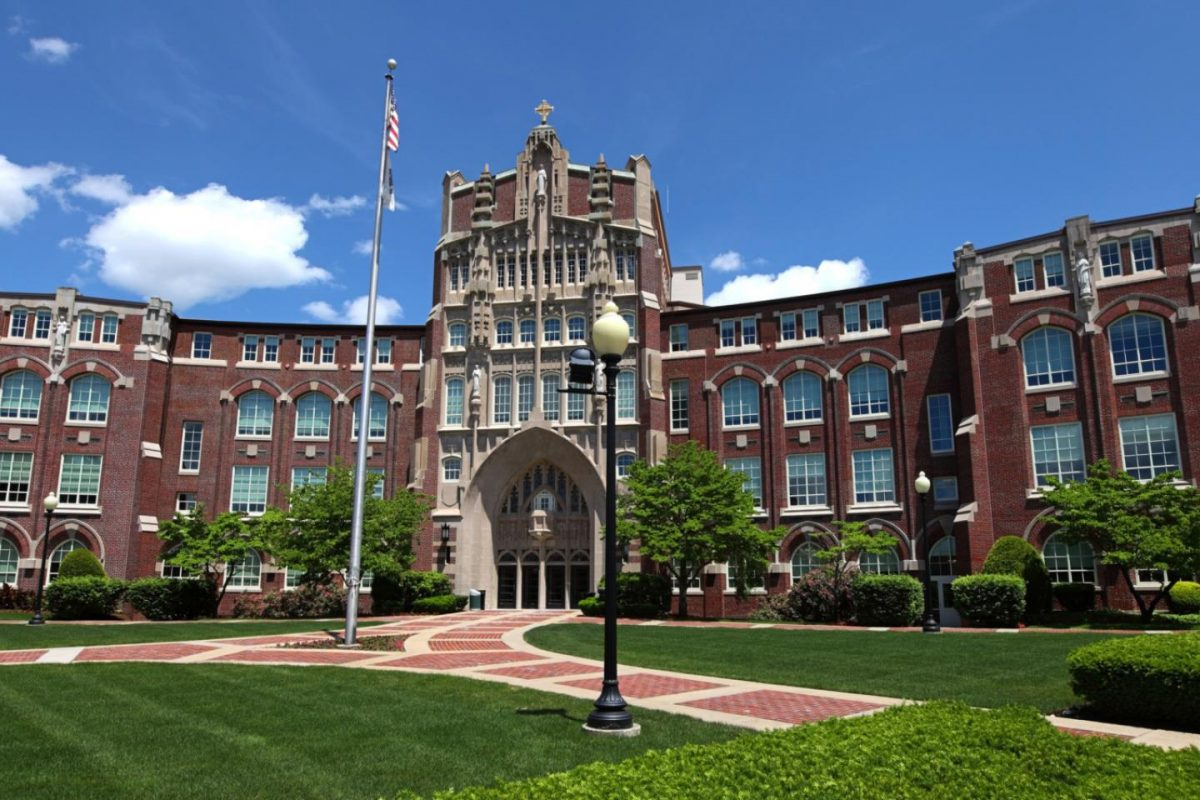 The campus of Providence College