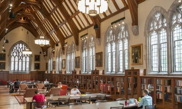 William R. Perkins Library, Duke University.