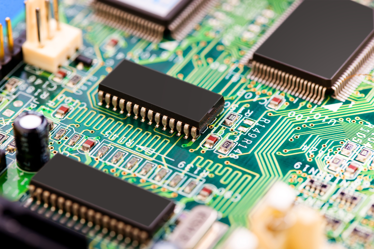The board of an electronic system