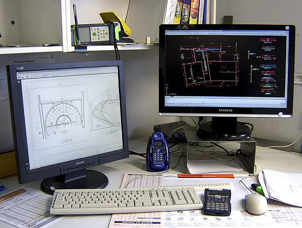 A practical example of  computer-aided design