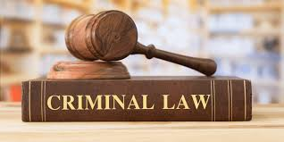 Picture of a gavel and criminal law book