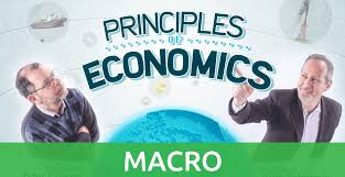 Cover of one of the many different macroeconomics textbooks
