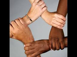 Picture of hands all braided together represent multicultural psychology as a discipline.
