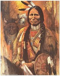 Texts written by famous Native Americans, such as the man pictured above, will be read in this course.