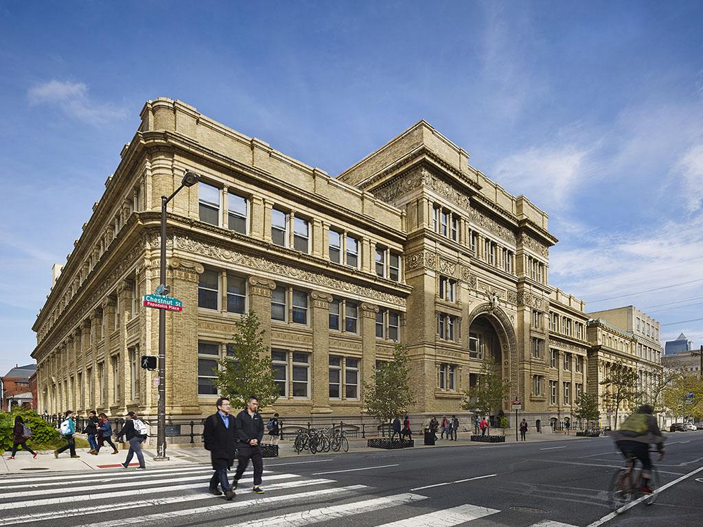 Main Building of Drexel  University.