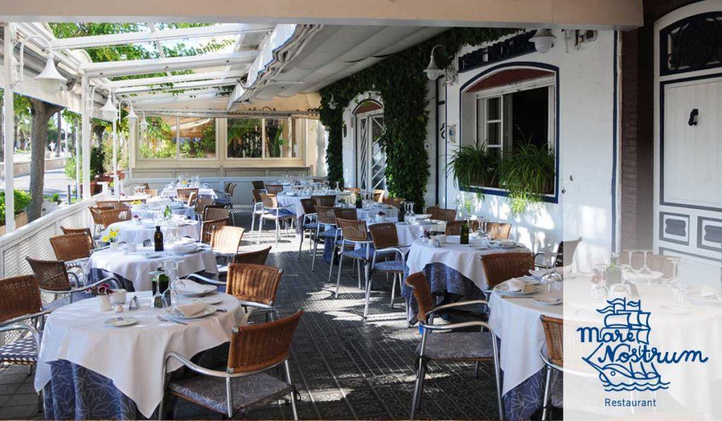 MareNostrum restaurant seating
