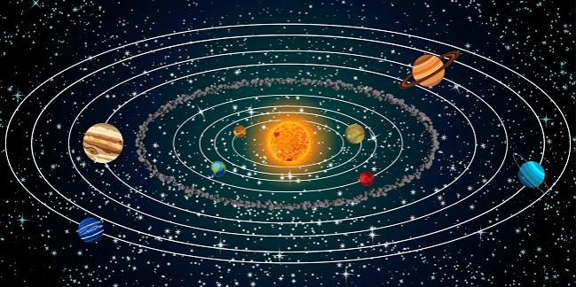 picture of the solar system