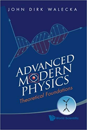 An ADVANCED MODERN PHYSICS textbook cover