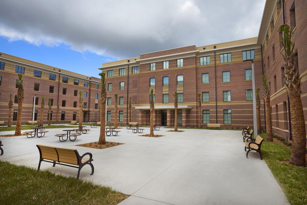 New building on BCU campus.