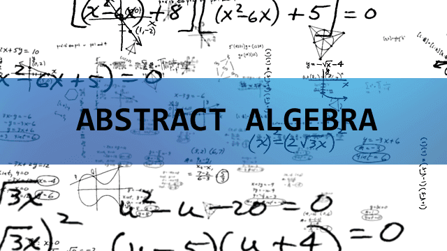 Abstract Algebra calculations