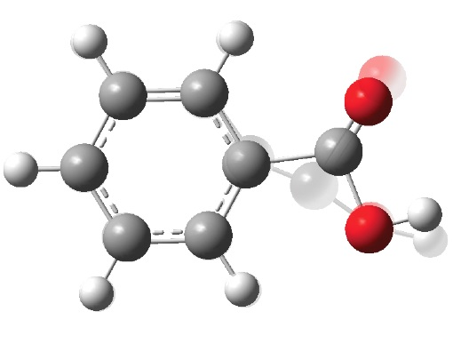 Picture of molecules