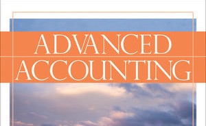 A poster written ADVANCED ACCOUNTING