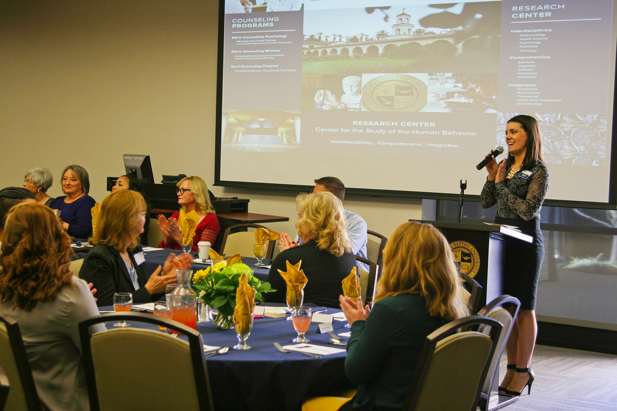 Annual Counseling Psychology Practicum Luncheon at CBU