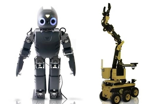 PIcture of two types of robots