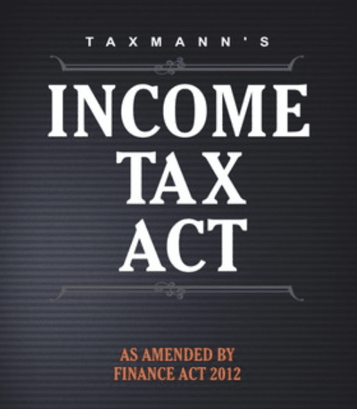 Income tax act book