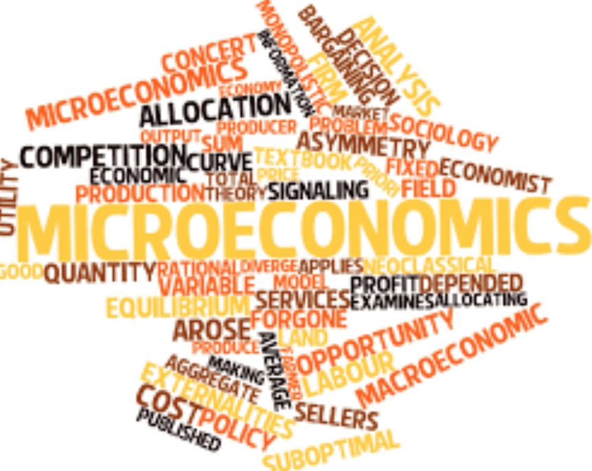 Words related to microeconomics
