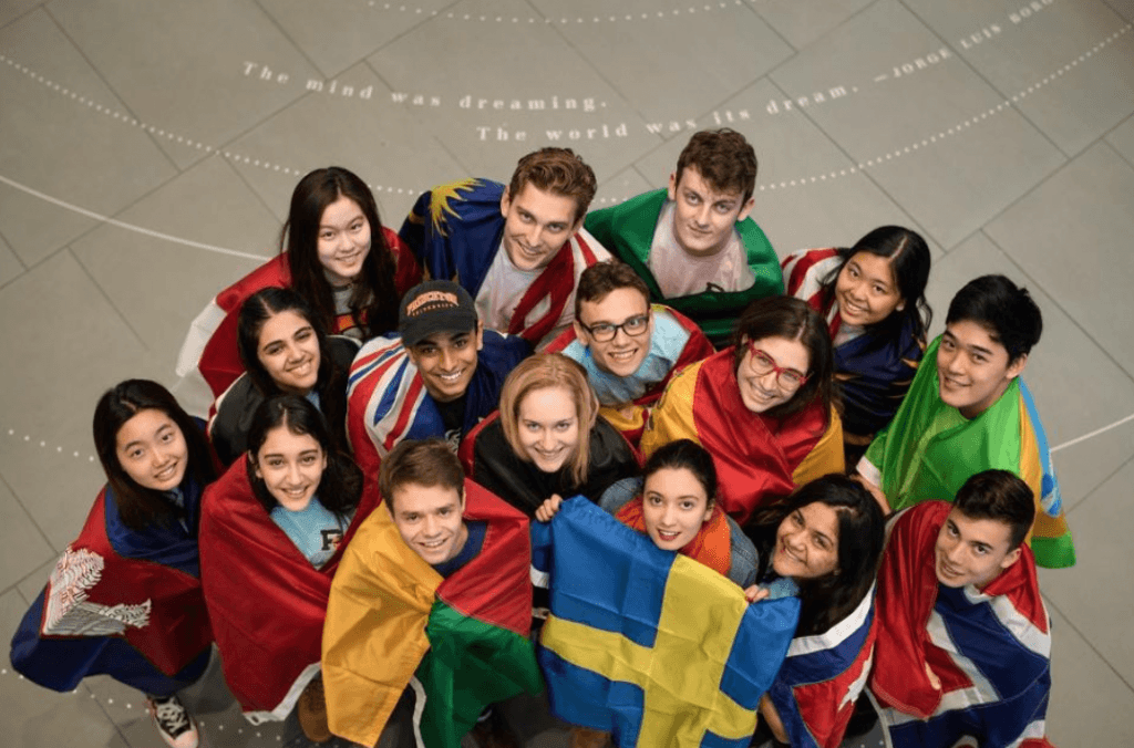 group picture of International Students