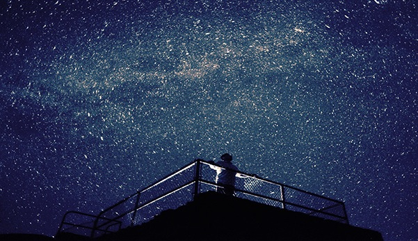 Picture of a sky full of stars