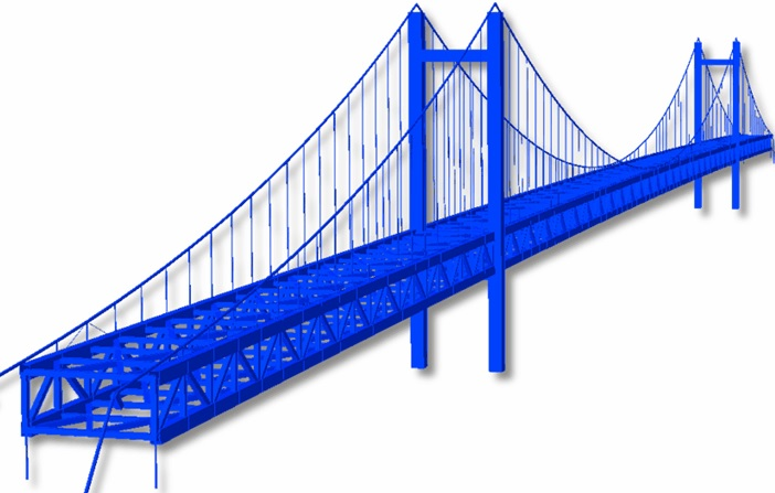 Image showing a bridge structure in Civil Engineering