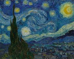A famous and historical piece of artwork of the sky