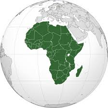 A map of Africa in retrospect to the world