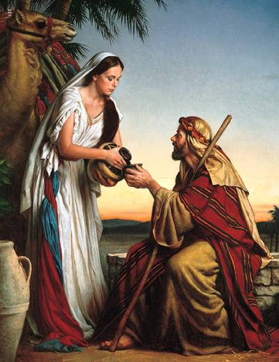 A Samaritan woman offers Jesus water to drink in this discussion about the role women played during Biblical times.