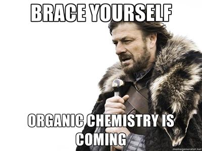 Chemistry is coming meme
